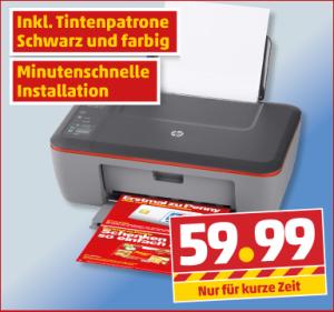 Penny verkauft den HP Deskjet 2510 ab Donnerstag für 60 Euro (Screenshot: ITespresso).