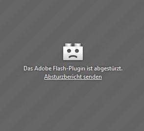 Adobes Flash Player macht schon wieder Probleme (Screenshot: ITespresso).