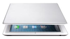 Umgeklappt wird die Bluetooth-Tastatur von Archos zum Cover für das iPad (Bild: Archos).