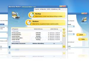 Die Freeware Backup Maker ist jetzt in Version 6.5 verfügbar (Bild: Ascomp)