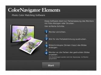 Eizo bietet die Software ColorNavigator Elements nun auch in einer deutschsprachigen Version kostenlos zum Download an.