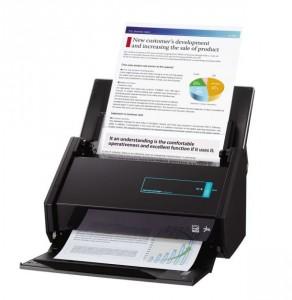 ujitsus ScanSnap iX500 überimmt vollautomatisiert ganze Dokumentenstapel in ganz unterschiedliche Software und Services (Bild: Fujitsu).