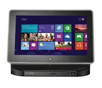 Mit dem S1802 bringt Gigabyte einen neuen Vertreter der totgegeglaubten Produktkategorie Slate-PC auf den Markt (Bild: Gigabyte).