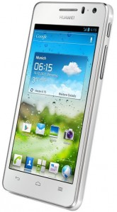 Das Huawei Ascend G615 soll es mit Googles Nexus 4 aufnehmen (Bild: Huawei).