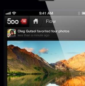 500px: Meist Landschaften, manchmal Aktfotos, keine Pornobilder.
