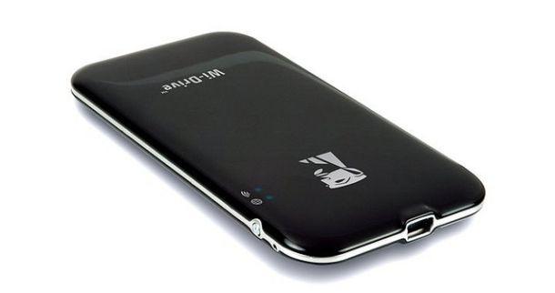externe festplatte mit wlan kingston wi drive 128 gb. Black Bedroom Furniture Sets. Home Design Ideas