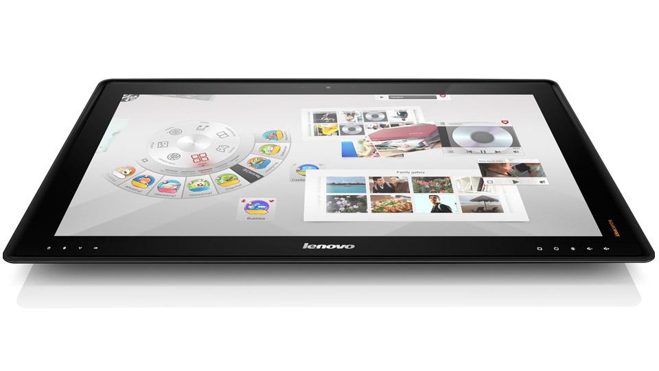 lenovo bringt 27 zoll tablet f r 1800 euro auf den markt. Black Bedroom Furniture Sets. Home Design Ideas