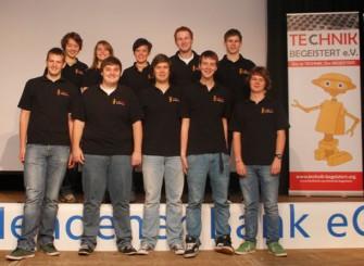 Der Verein Technik begeistert organsiert mit Untertsützung der Volksbank Menden und des Technologiekonzerns IBM dieses Jahr die Regionalwettbewerbe der World Robot Olympiad in Deutschland (Bild: Technik begeistert e.V.)