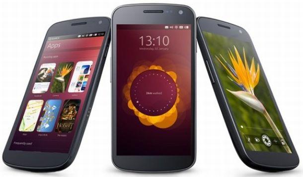 Ubuntu for phones erscheint als erstes für das Samsung Galaxy Nexus (Bild: Canonical).