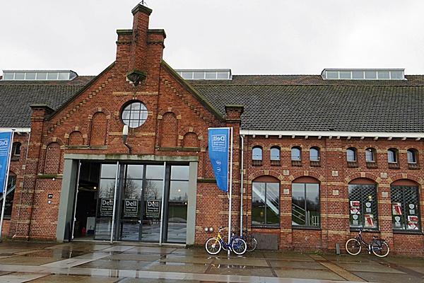 Schauplatz von Dells Technology Camp 2013: ein altes Gaswerk in Amsterdam.
