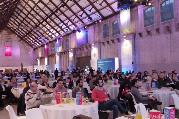 Mehr als 100 Journalisten und Analysten hatte Dell ins Technology Camp geladen.