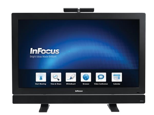 Der Mondopad von Infocus ist ein Multitouch-Display für Präsentationen und Videokonferenzen. (Foto: Infocus)