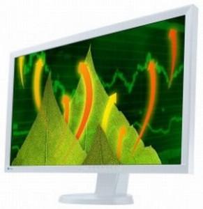 Eizo hat mit dem Flexscan EV2736W-einen 27-Zoll-Monitor mit 2560 mal 1440 Bildpunkten angekündigt (Bild: Eizo).