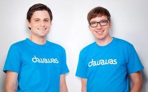 Fabian Jager und Patrick Ohler, bekannt als Gründer von wer-kennt-wen.de, haben ihr neues Projekt dawawas.de jetzt für alle Nutzer freigegeben (Bild: dawawas.de).
