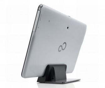 Als Zubehör bietet Fujitsu neben einem Dock auch Bluetooth-Maus, -Tastatur und -Speaker an (Bild: Fujitsu).