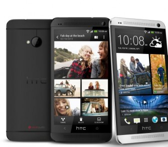 Das HTC One mit der herstellereignen Oberfläche Sense 5 (Bild: HTC)