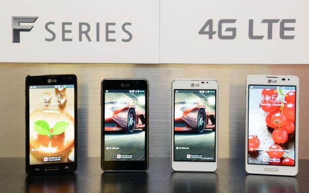LGs Smartphone-Reihe Optimus F (Bild: LG).