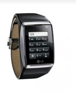 Das LG-GD910: Einst als James Bonds schickes Luxus-Handy am Handgelenk beworben, jetzt als Auslaufmodell im Abverkauf: Das LG GD910 (bild: LG Electronics).