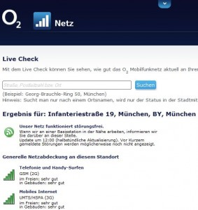 Beim Test mit der neuen Funktion war der Empfang in und um die ITespresso-Redaktionsräume in München einwandfrei (Screenshot: ITespresso).