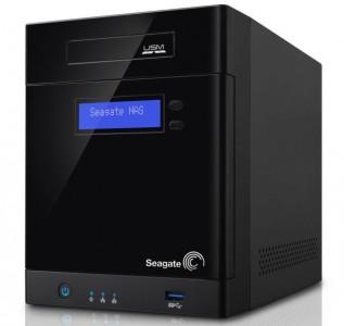 Die Business-Storage-Reihe unterstützt bis zu vier Laufwerke mit maximal 16 TByte Speicher (Bild: Seagate).