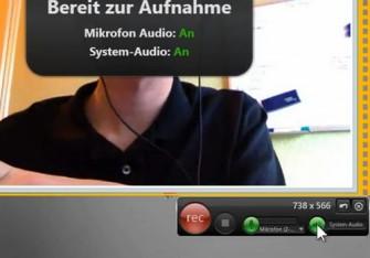 Mit Snagit lassen sich jetzt auch unkompliziert Videos samt Ton aufzeichnen (Screenshot: ITespresso).