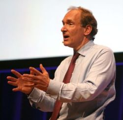 Web-Erfinder Tim Berners-Lee (Bild: Peter Marwan)