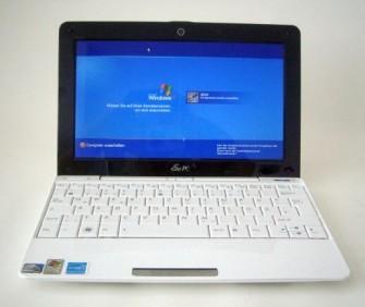Der Eee PC von Asus, die Mutter aller Netboooks (Bild: ITespresso).
