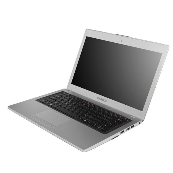 Das Ultrabook U2442 von Gigabyte arbeitet mit einem Intel-Core-Prozessor der dritten Generation und einem Grafikchip von Nvidia.(Foto: Gigabyte)