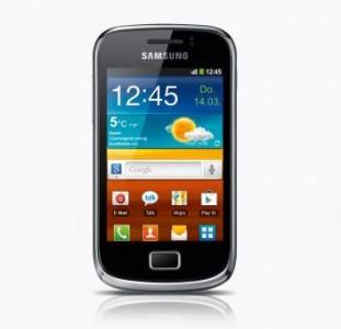 Ab 14.März verkafut Aldi Nord erneut das Samsung Galaxy GT-S6500 (Bild: Aldi).
