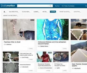 Laut Wall Street Journal will Yahoo die Mehrheit am europäischen Videoportal Dailymotion übernehmen (Screenshot: ITespresso).