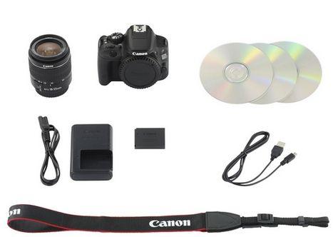 Lieferumfang Canon EOS 100D