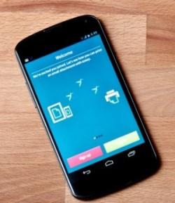 Zur CeBIT2013  hatte Ezeep seine Android-App fürs hestellerunabhängige Drucken vorgestellt (Bild: Ezeep).