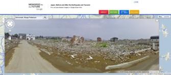 Ishinomaki ist eine der am schwersten vom Reaktorunfall in Fukushima betroffenen Gemeinden (Bild: Google).