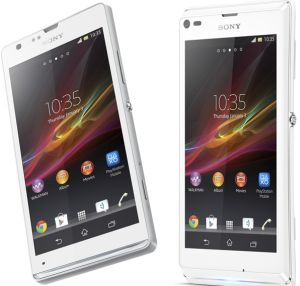 Die angekündigten Android-Smartphones Xperia SP udn Xperia L (Bild: Sony)