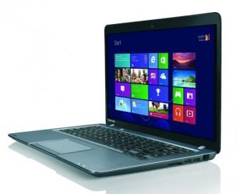 Das Ultrabook Satellite U840t-101 mit Windows 8 kommt im zweiten Quatral in Deutschland auf den Markt (Bild: Toshiba).