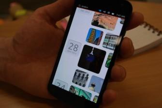 Die Bildergalerie als Beispiel für eine haueigene Ubuntu-App (Bild: TechweekEurope).