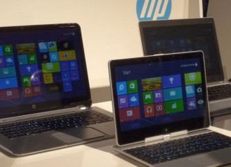 Auch die zahlreichen Ultrabooks und Convertibles der vergangenen Wochen, etwa von Hewlett-Packard, haben dem PC-Markt noch keine entscheidenden Impulse geben können (Bild: ITespresso).