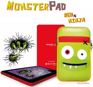 Easypix Monsterpad Red Ninja