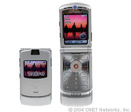Auch Motorolas Razr V3 hat eine treue Fangemeinde (Bild: CNET Networks).