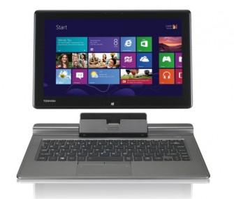 Mit dem Portégé Z10t will Toshiba ab Juni bei Convertibles mit Windows 8 mitspielen (Bild: Toshiba).