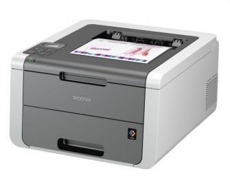 Der HL-3140CW ist der kleinste der drei neuen Farb-LED-Drucker von Brother (Bild: Brother).
