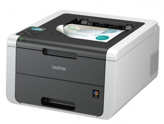 Der HL-3170CDW ist mit 22 Seiten pro Minute in Farbe udn Schwarzweiß ein bißchen flotter als die beiden anderen neuen Modelle (Bild: Brother).