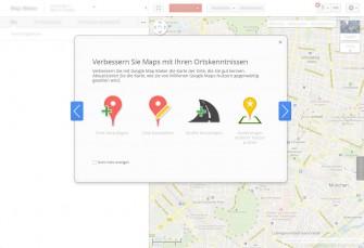 Google Map Maker ist nun auch in Deutschland verfügbar.