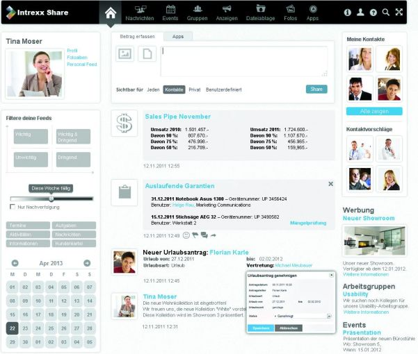 Intexx Share Screen