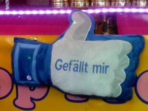 """Nicht immer wenn """"Gefällt mir"""" draufsteht, ist es der echte Like-Button von Facebook (Bild: Peter Marwan / ITespresso)"""
