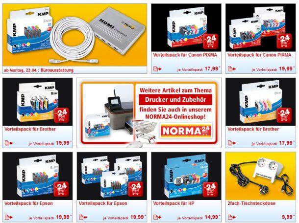 Vor dem Einkauf bei Norma empfiehlt es sich auf alle Fälle die Kompatibilitätsliste auf der Website des Discounters zu überprüfen (Screenshot: ITespresso).