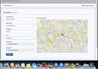 Apptitan-Landkarteneinbindung