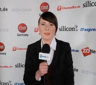 Uta Sommer erklärt im Kurzvideo für NetMediaEurope Ziele und Funktionsweise von GoHiring.