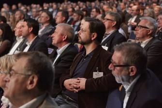 Über 500 Besucher informierten sich in Unterschleißheim bei München über die Wachstumsinitiative Antrieb Mittelstand (Foto: Antrieb Mittelstand).