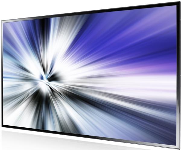 Das Large-Format-Display von Samsung wird mit einem System on a Chip-Modul kombiniert.